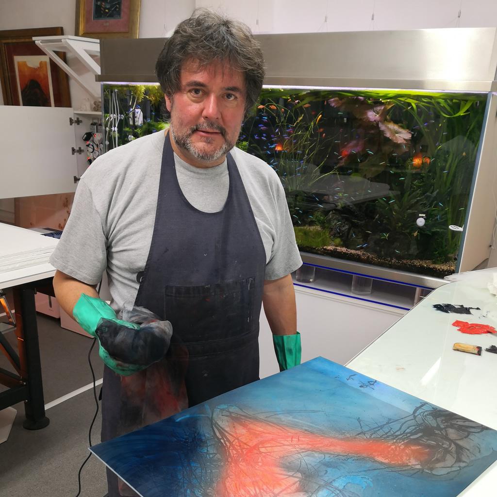 Frank Jalšovský: Tvorba diela ma pohltí natoľko, že nevnímam čas a ani okolitý svet