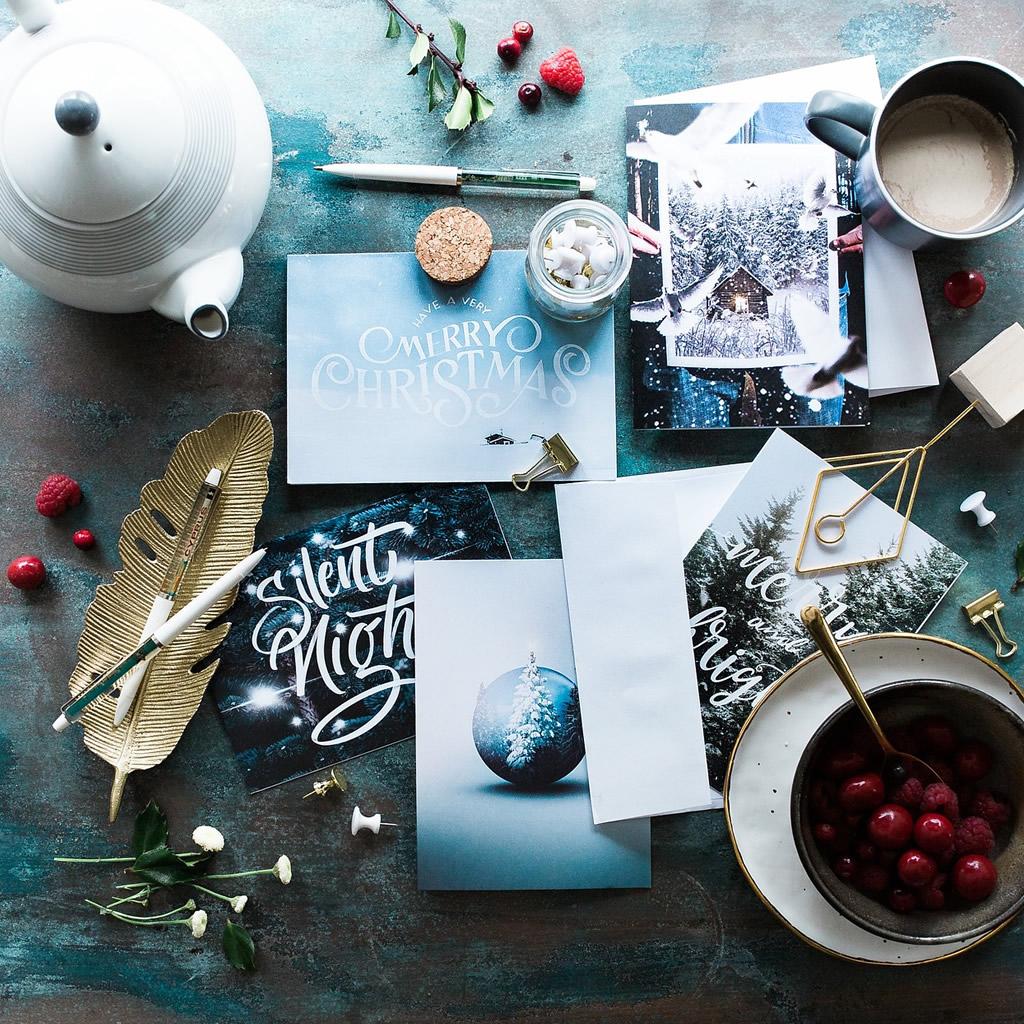 Do dražby ide prvá komerčná, vianočná pohľadnica