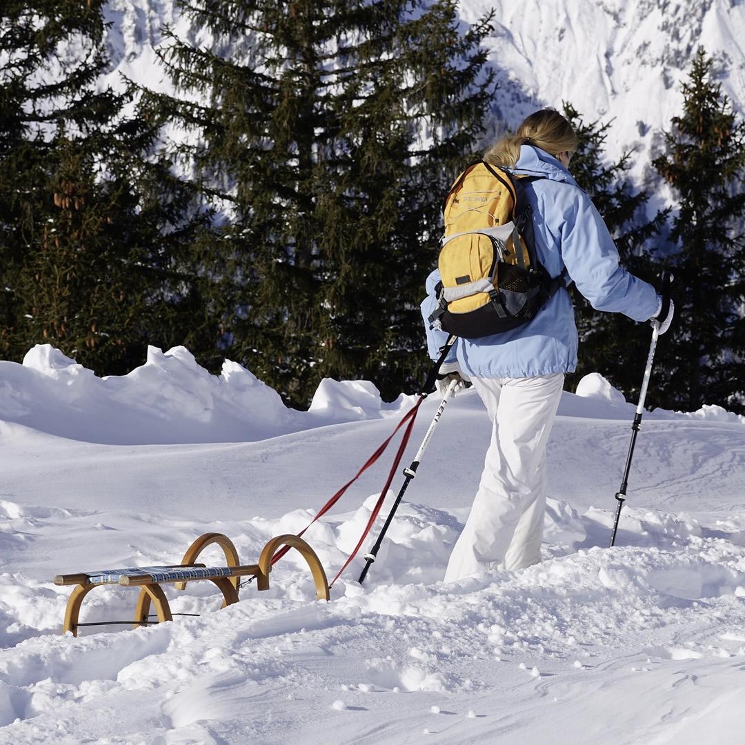 Tip na zimnú túru: Hrebienok, Rainerova útulňa a Zamkovského chata