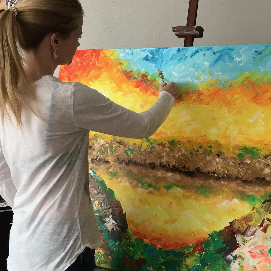 Silvia Macková – finančná poradkyňa, ktorej maľby nosia na tričkách zahraničné hviezdy