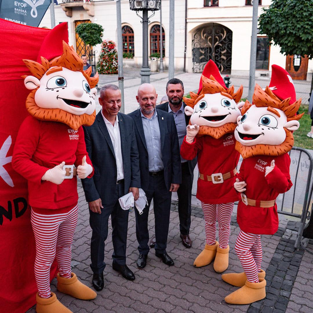 Európsky olympijský festival mládeže prichádza aj k nám. Budúci rok ho bude hostiť Banská Bystrica