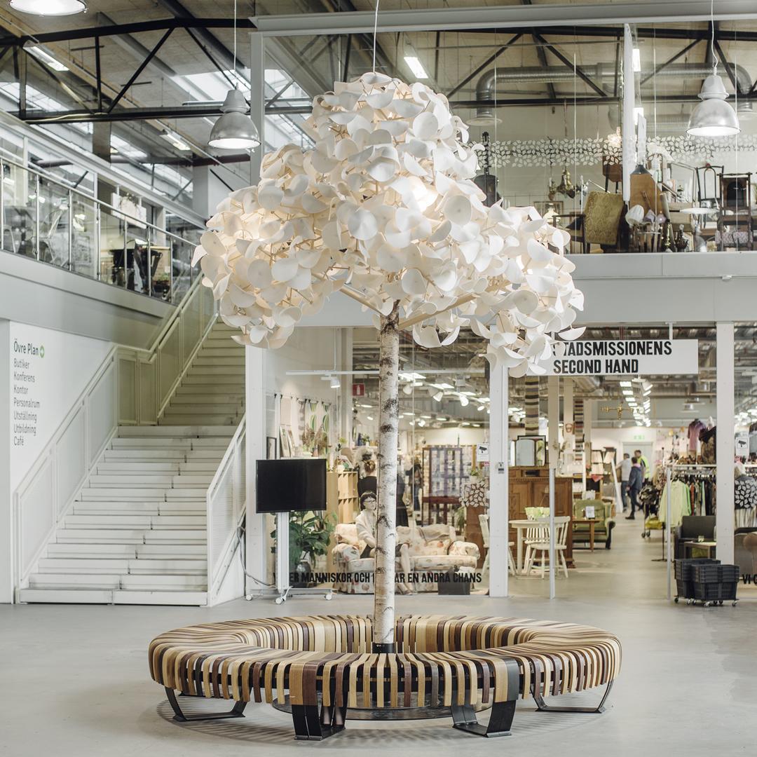 Prvé recyklačné nákupné centrum na svete nájdete vo Švédsku. Ako to v ňom vyzerá?